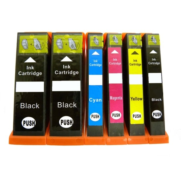 Canon PGI-250 CLI-251 Replacement Ink Cartridge for Canon Pixma (Pack of 6)