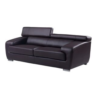 Natalie Chocolate Functional Headrest Sofa