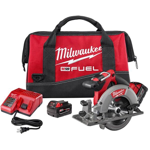 Milwaukee M18 Fuel 18-Volt Lithium-Ion Brushless 6.5-inch Cordless Circular Saw Kit