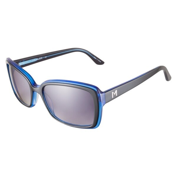 Thierry Mugler TR2020 C02 Black Blue Sunglasses