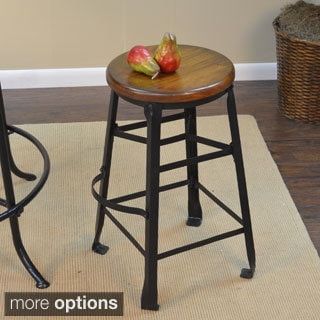 Felton Warm Chestnut Finish Stool