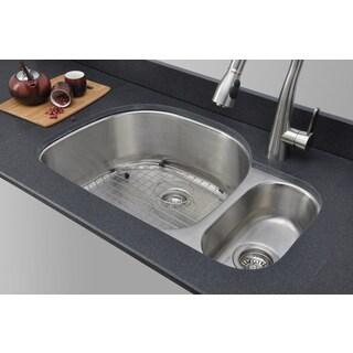 Wells Sinkware 18-gauge 80/20 Double Bowl Undermount Sink Package