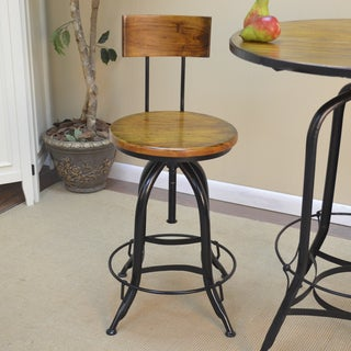 Adjustable Ryder Stool with Back