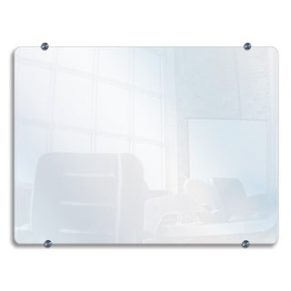 Luxor Large Wall-mounted 45.6 x 36.6-inch Glass Board