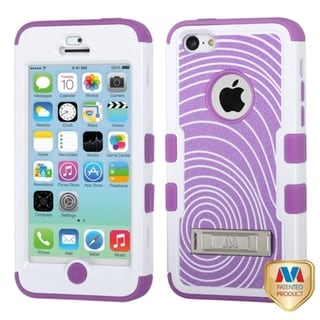 INSTEN TUFF Hybrid Phone Case Cover with Stand for Apple iPhone 5C
