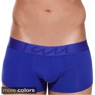 Men's Solid Padded Trunks