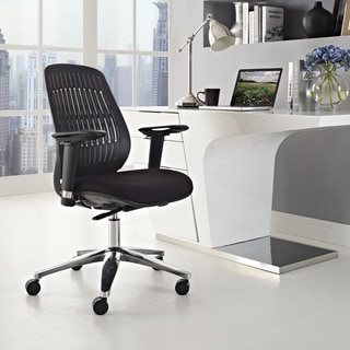 manhattan adjustable white office chair 11229440