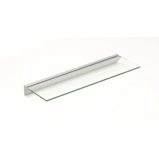 Essentials 6x18 Clear Glass Shelf Kit