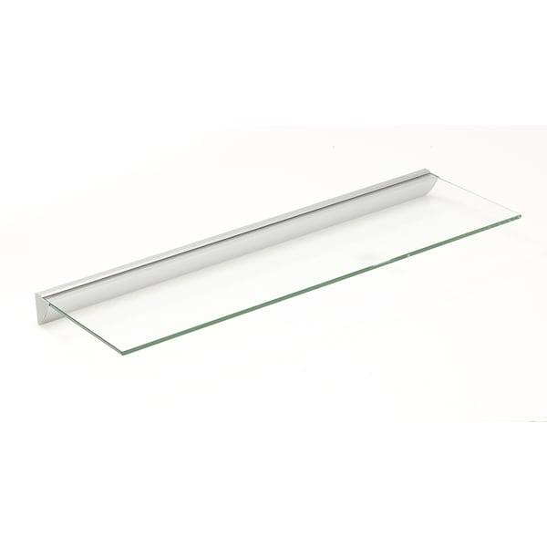 Essentials 8x24 Clear Glass Shelf Kit