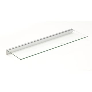 Essentials 8x24 Clear Glass Shelf Kit
