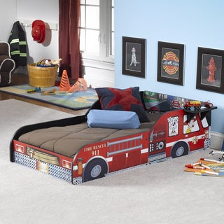 Fire Truck Red Toddler Bed