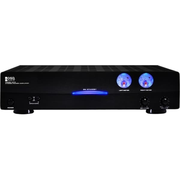 OSD Audio AMP200 Amplifier - 400 W RMS - 2 Channel - Black