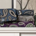 Paisley 100-percent Cotton Flannel Sheet Set or Pillowcase Separates