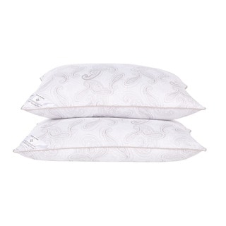 Serene Dreams Paisley Print Down Alternative Pillow (Set of 2)