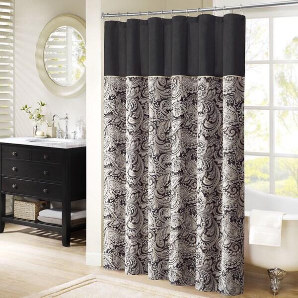 Madison park wellington shower curtain 16187059 - Madison park bathroom accessories ...