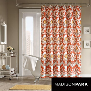 Mizone Portia Microfiber Shower Curtain
