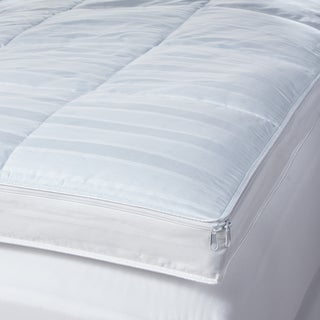 Cool Touch 400 Thread Count Waterproof Mattress Topper Protector (for Memory Foam/ Fiber/ Feather Beds)