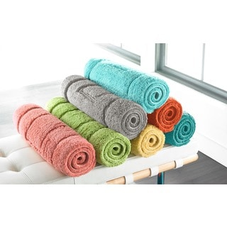Egyptian Cotton Brights Collection 24 x 40 Bath Rug