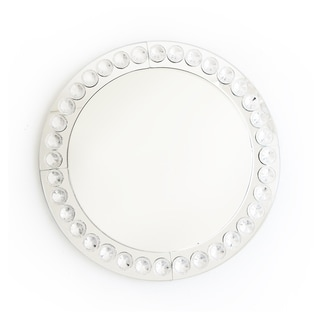 Clear Beaded 13-inch Charger Plate