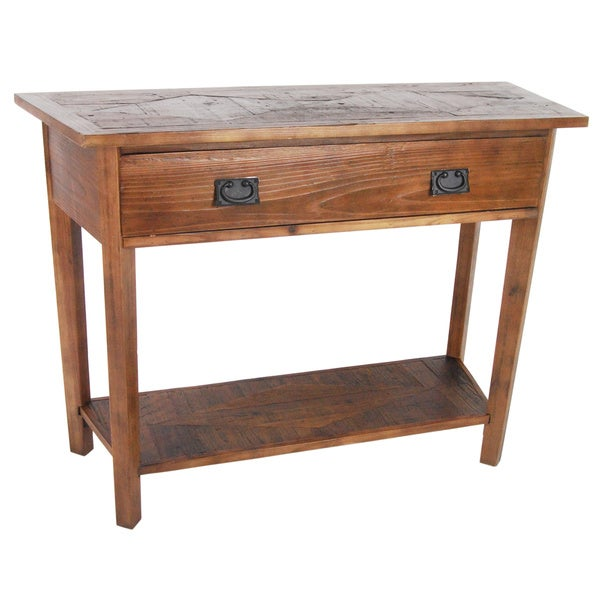Alaterre Heritage Reclaimed Wood Console Table