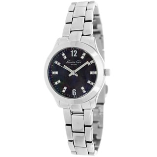 Kenneth Cole Women's 'New York' KCW4023 Black Dial Watch