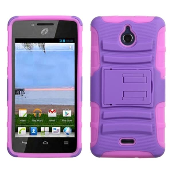 INSTEN Car Armor Stand Phone Case Cover for Huawei H881C Ascend Plus/ Y301 Valiant