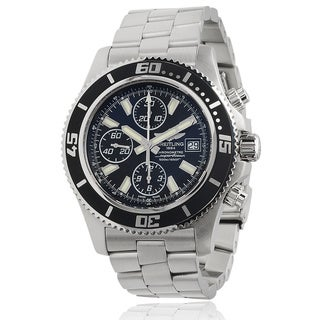 Breitling Men's Superocean A1334102/BA84 Stainless Steel Chronograph Automatic Watch