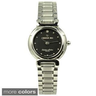 Charlie Jill Women's 'Elmira' Stainless Steel Watch