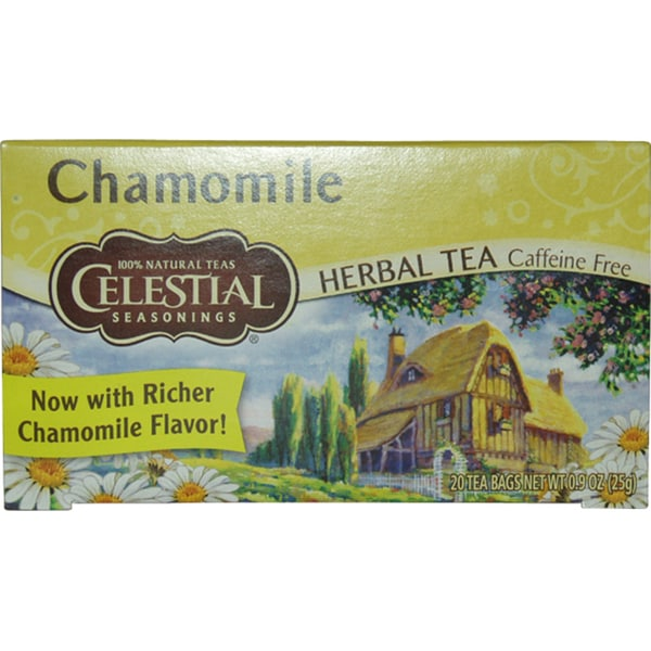 Celestial Seasonings Caffeine-free Chamomile Herbal Tea (20 bags)