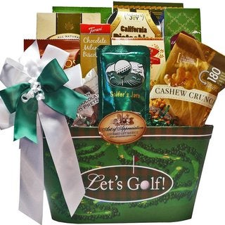 Time To Golf Gourmet Food and Snacks Gift Basket