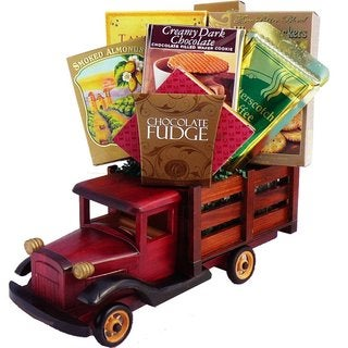 Antique Truck of Gourmet Food and Snacks