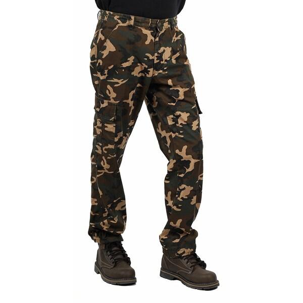 Akademiks Men's Camo Cargo Pant