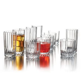 Boca 12-piece Clear Glass Set