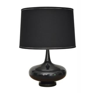 Powder-coat Gloss Black Finish Designer Table Lamp