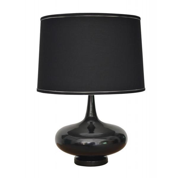 Powder-coat Gloss Black Finish Designer Table Lamp