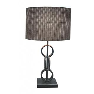 Hand-rubbed Bronze Finish Designer Table Lamp