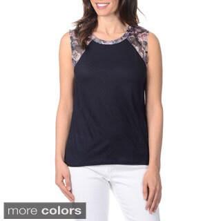 Yal New York Women's Raglan Sleeveless Top