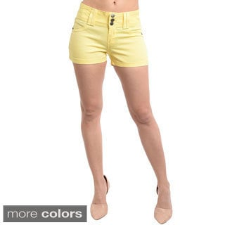 Stanzino Women's Colored Mini Summer Shorts