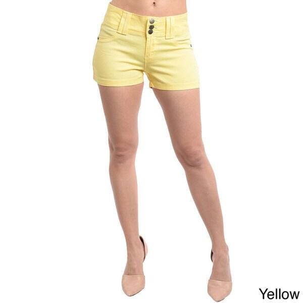Stanzino Women's Colored Mini Summer Shorts