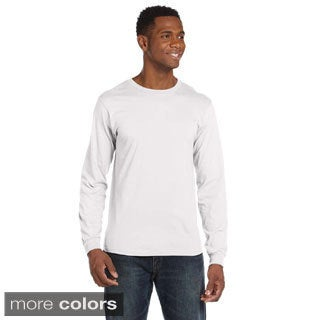 Anvil Men's Ringspun Long Sleeve T-shirt