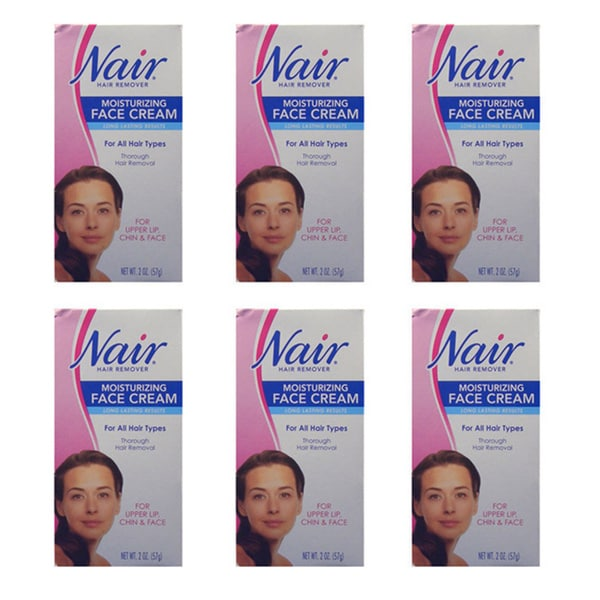 Nair Moisturizing 2-ounce Hair-removing Face Cream (Pack of 6) 12841646