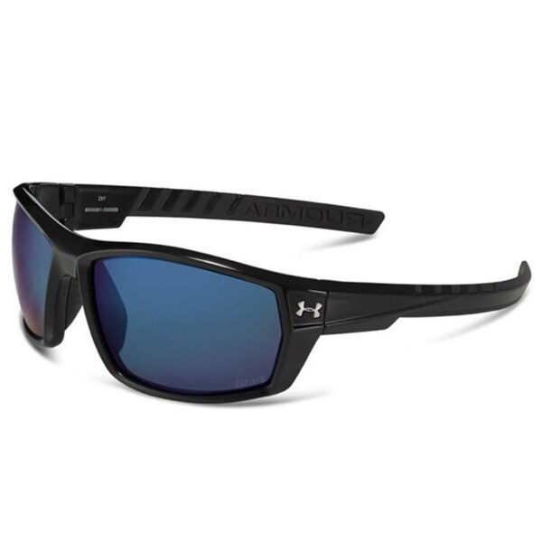 Under Armour Ranger Storm Polarized with Blue Mirror Performance Sunglasses