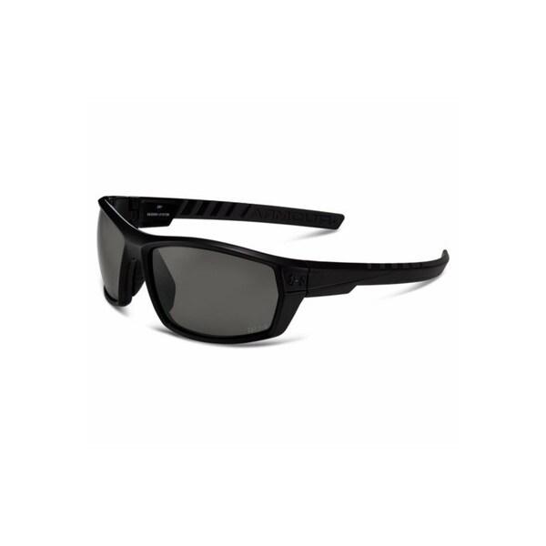 Under Armour Ranger Storm Satin Black Polarized Performance Sunglasses