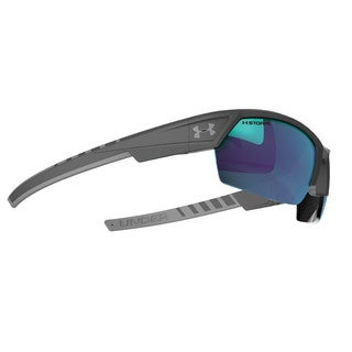 Under Armour Igniter 2.0 Storm Satin Carbon Performance Sunglasses
