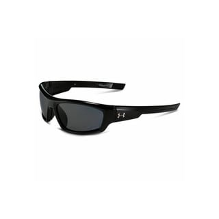 Under Armour Power Storm Shiny Black Performance Sunglasses