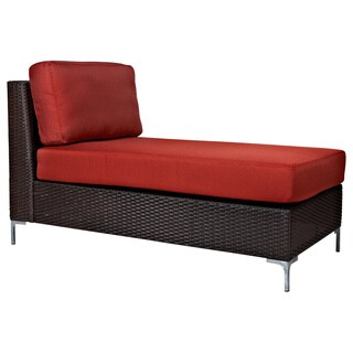 Wicker chaise lounges overstock shopping the best for Best price chaise lounge