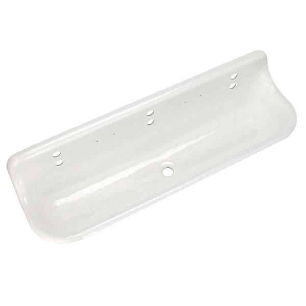 Kohler Brockway Sink : Kohler Brockway White 65.5-inch Wall-mount Wash Sink - 16190274 ...