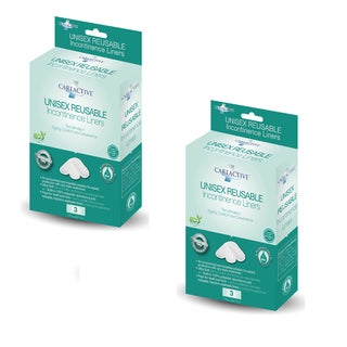 CareActive Unisex Reusable Incontinence Liners (Pack of 6)