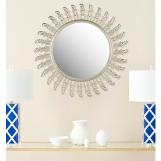 Safavieh Inca Sunburst Pewter Mirror