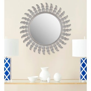 Safavieh Inca Sunburst Grey Mirror